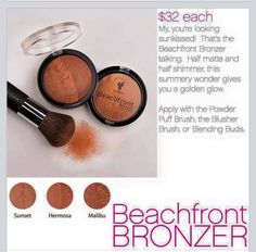 Bronzers .. https://www.youniqueproducts.com/TinaBahm