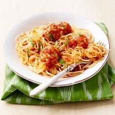 Get the recipe for Not Your Grandma's Spaghetti and Meatballs