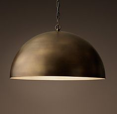 Antiqued Metal Dome | RH