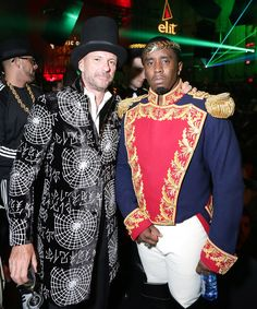 New York City landmark Cipriani hosted a Halloween bash to beat all other spooky soirées. See inside the luxurious evening, dotted with international guests and celebrities Giuseppe Cipriani, P.Diddy
