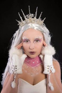 Snowqueen look! Make-up by facebook.com/sofiemua