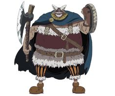 Brogy the Red Ogre is one of the two former captains of the Giant Warrior Pirates from Elbaf. It is from his pirate life that he earned a bounty of He is an ally of the Straw Hat Pirates during the Little Garden Arc. One Piece Giants, One Piece All Characters, Character Sheet, Character Design, Marley Brothers, Carnivorous Animals, One Peace, Pirate Life, Story Arc