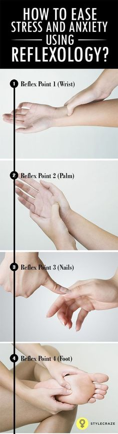 Amazing tips on reflexology to help you ease stress and anxiety effectively. #PanicAttackNight