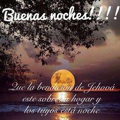 Buenas noches!!! Que la bendición de Jehová  este sobre tu hogar y los tuyos está noche