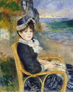 By the Seashore, 1883  August Renoir (French, 1841–1919)  Oil on canvas