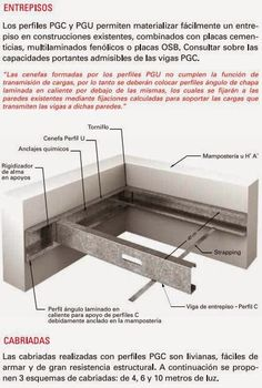 CONSTRUCCIONES: PISOS – ENTREPISOS - ESCALERAS