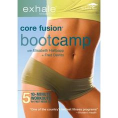 Shop Exhale: Core Fusion Bootcamp [DVD] at Best Buy. Find low everyday prices and buy online for delivery or in-store pick-up. Lose 15 Pounds, Losing 10 Pounds, Losing Weight Tips, How To Lose Weight Fast, Workout To Lose Weight Fast, Easy Weight Loss Tips, Weight Loss Workout Plan, Best Weight Loss Exercises, Weight Lifting Workouts
