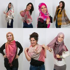 Beautiful scarves/hijabs  www.vousetesbellefashion.com