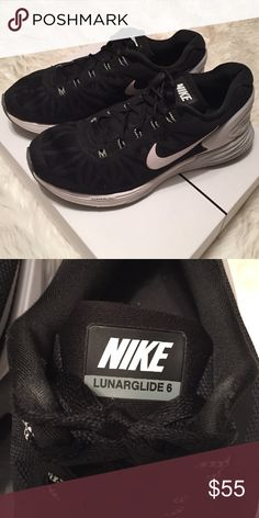 Nike Lunarglide 6 Sneakers Very comfortable sneakers with thick support, great condition. Size 8 Nike Shoes Sneakers