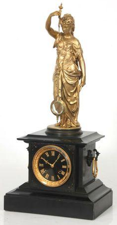 Guilmet Figural 8 Day Mystery Clock