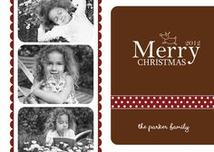 Holiday Photo Card Christmas Custom Design Professionally Printed Card Stock Photo Paper Modern Unique Best Corporate Business
