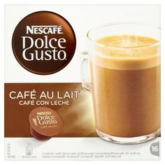 Nescafe Dolce Gusto Cafe Au Lait 160g * Want additional info? Click on the image.
