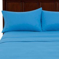 Mainstays Microfiber Sheet Set, Blue