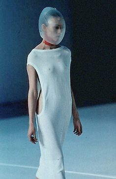 "Hussein Chalayan S/S 1998""Between""  Repinned by www.fashion.net"