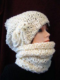 Instant download -  hat crochet pattern -(pdf file) , scarf pattern,  boy, girl, children, adult, men, women. num 610