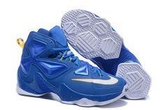2217b6945d9e 2016-2017 Sale Lebron 13 XIII Familiar Entourage Taxi Hyper Blue White New  Arrival 2016