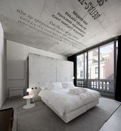 Room layout at Casa do Conto, Porto, Portugal designed by Pedra Líquida.
