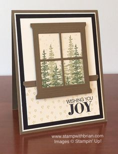 Wonderland, Hearth & Home Thinlits, Stampin' Up!, Brian King, FMS200