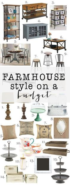 Style on a budget: Amazing farmhouse furniture and decor at incredible prices. Decorating doesnt have to be expensive.Farmhouse Style on a budget: Amazing farmhouse furniture and decor at incredible prices. Decorating doesnt have to be expensive. Style At Home, Farmhouse Style Furniture, Country Furniture, Wooden Furniture, Furniture Ideas, Modern Farmhouse Living Room Decor, Modern Farmhouse Design, Trendy Furniture, Business Furniture