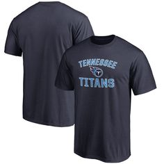 Tennessee Titans NFL Pro Line Big & Tall Victory Arch T-Shirt - Navy