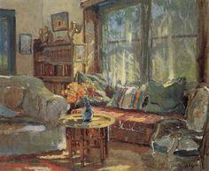 Colin Campbell Cooper | Cottage Interior