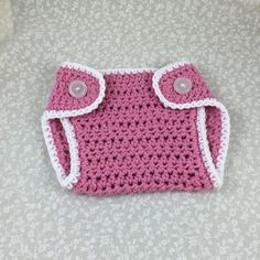 Crochet Diaper Cover Handmade Princess Pink by ForLittlePaws Awesome baby shower gift