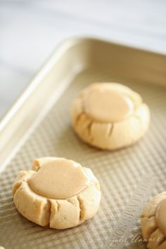 Amazing salted caramel sugar cookie recipe - a soft sugar cookie base with a brown sugar caramel icing that will be the hit of your next cookie exchange! Pumpkin Sugar Cookies, Soft Sugar Cookies, Fall Cookies, Sugar Cookies Recipe, Christmas Cookies, Baking Cookies, Mabon, Samhain, Salted Caramel Sugar Cookie Recipe