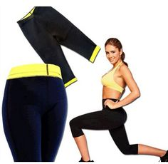 ホットスリムリフトスポーツパンツ減量脚パラadelgazarヨガ服女性の痩身ラップ本体シェイパーウエスト訓練コルセット