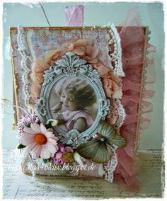Live & Love Crafts' Inspiration and Challenge Blog: Fleur De Lis Book Card