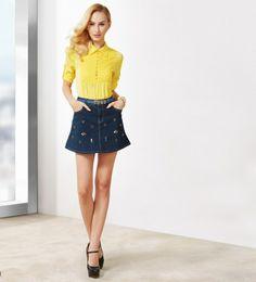 osell wholesale dropship Spring new fashion High waist cotton denim short skirt SN440071 $17.39