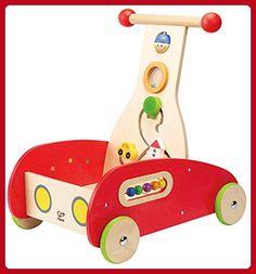 Hape Wonder Walker Push and Pull Toddler Walking Toy - Toys for little kids (*Amazon Partner-Link)