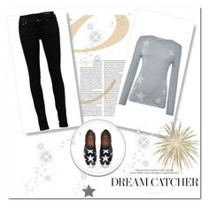 """Star"" by shattereddemon ❤ liked on Polyvore featuring Oui, Yves Saint Laurent and Givenchy"