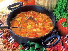 Gulaszowa zupa węgierska - przepis -Przepis