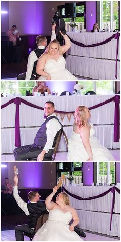 "The ""Shoe Game"" is such a fun crowd pleaser for any reception! Iowa Wedding Photography 