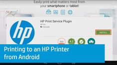 Printing to an HP Printer from Android