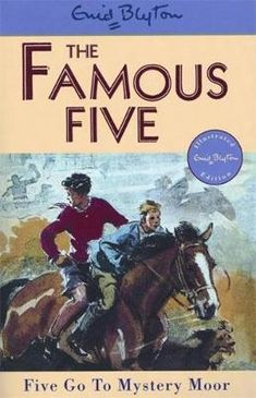 There's something dangerous out on Mystery Moor, and the Famous Five will have to risk the treacherous mists to follow the trail. This adventure story features Julian, Dick, Anne, George, and Timmy. Enid Blyton Books, The Famous Five, Who Book, Mighty Ape, Famous Books, Early Readers, Childrens Books, How To Find Out, Mystery