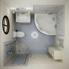 decoracao de banheiro pequeno 3
