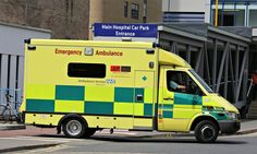'The ambulance service is responsible for providing rapid, life-saving care within as little as eight minutes.' Photograph: Geoffrey Robinso...
