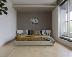ベッドルーム : アクセントウォールのアイデア集【インテリア壁紙】 - NAVER まとめ