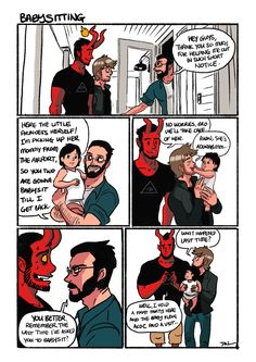 Gay devil comic