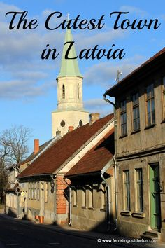 With its picturesque river, elegant churches, and perfectly preserved medieval architecture, Kuldiga just might be the most adorable town in Latvia. Road Trip Europe, Europe Travel Tips, Travel Goals, European Travel, Travel List, Travel Destinations, Travel Route, Places To Travel, Europe