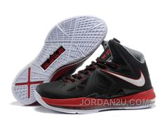 sale retailer 1bce8 b79eb Nike Zoom Lebron 10 Shoes Black Red White TAZM8, Price   62.00 - New Air  Jordan Shoes 2018
