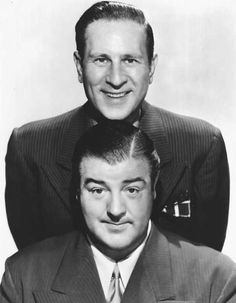 Bud Abbott, Lou Costello [Abbott and Costello[, Movies Photo - 46 x 61 cm Golden Age Of Hollywood, Hollywood Stars, Classic Hollywood, Old Hollywood, Hollywood Actor, Abbott And Costello, The Comedian, Comedian Quotes, Mejores Series Tv