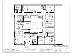 Physical therapy floor plan physical therapy center for Physical therapy office layout
