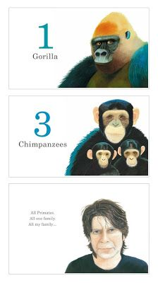 From ONE GORILLA by Anthony Browne
