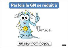 03 - GN parfois un seul nom noyau Nom Nom, Comics, Kids, Fictional Characters, French Connection, Grammar, Math, Mental Map, Trier