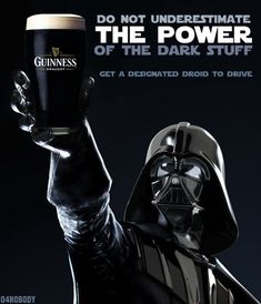 #Ireland #Beer #Vader