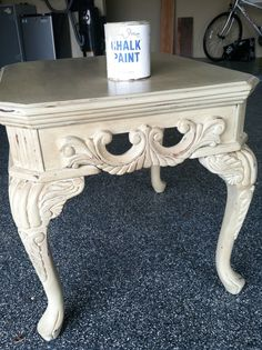 country+grey+chalk+paint | ... Annie Sloan's Chalk Paint in Country Grey with clear and dark waxes