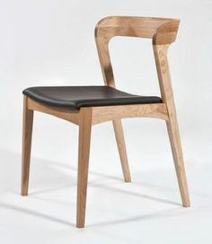 Replica Niels Moller Leather Dining Chair