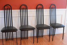 Stylized High Back Chairs http://www.ctonlineauctions.com/detail.asp?id=240375